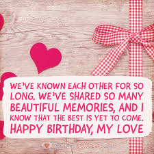 Love Birthday Quotes Stunning Romantic Birthday Wishes