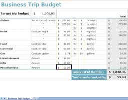 budgets sample sample travel budget sample travel budget template in excel
