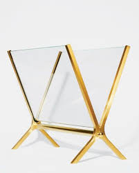 Elegant Magazine Holder Simple Eight Elegant Magazine Racks Detailobsessed Pinterest