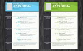 15 Free Resume Photoshop Templates For Enhancing The Chance