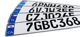 Custom <b>European License</b> Plates
