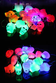 haunted house lighting. Halloween Ghost Pumpkin Colorful String Lights Garden Courtyard Haunted  House Bar Holiday Decoration Haunted House Lighting