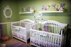baby room ideas for twins. Cute-Twin-Baby-Cribs-and-Nursery-Design13 Baby Room Ideas For Twins