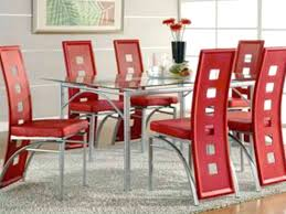 red dining room sets modern round dining room table inspiring exemplary