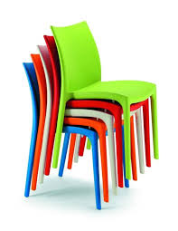 stackable plastic chairs. Beautiful Chairs 064ZIP Stackable Chair In Plastic Of Various Colors Intended Plastic Chairs E