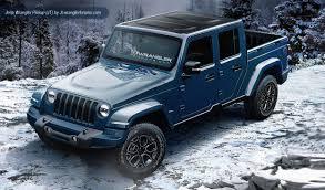 2019 jeep wrangler dual cab ute renderings