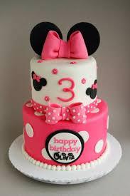 Mickey Mouse Birthday Cake Ideas Minnie Mouse Cake Ideas Minnie