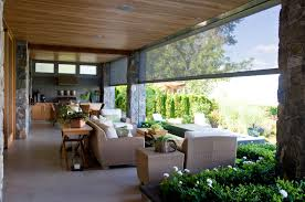 perfect screens rectractable u0026 motorized patio screens roll up the shade houston tx with outdoor c