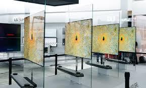 Lg Glass Tv Design Lg Signature Oled Tv W Pushes Tv Design Into A New Dimension