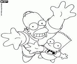 The Simpsons Coloring Pages Printable Games