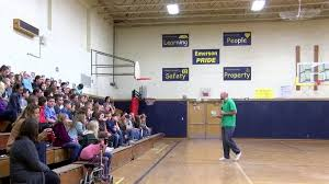 Former Spartan Basketball star brings anti-bullying message to Owosso  students | WEYI