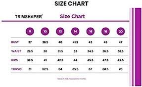 Trimshaper Size Chart Trimshaper By Miraclesuit Tapa Tribal Cara Top With Basic