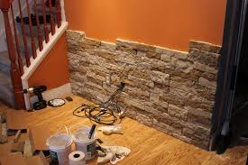 stone veneer panels faux for fireplace