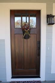 Another favorite door style and it provides more privacy but still lets in  light. The