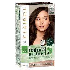 Clairol Natural Instincts Brass Free Hair Color 5c Medium