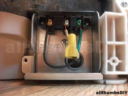 allthumbsdiy imags installing bosch dishwasher a60 electrical fl