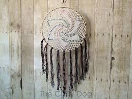 Native American Beaded Dream Catchers Interesting Crochet Pattern Star Dreamcatcher The Chilly Dog