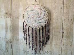 How Dream Catchers Work Extraordinary Crochet Pattern Star Dreamcatcher The Chilly Dog
