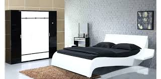 Contemporary Bed Design For Bedroom Furniture White Collection By ...
