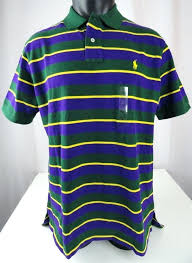 purple and yellow rugby shirt polo men green purple yellow striped polo shirt custom fit polo