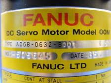 fanuc dc servo motor fanuc elox a06b 0632 b001 dc servo motor model 00m