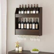 Chancey 24 Bottle Wall Mounted Wine Rack