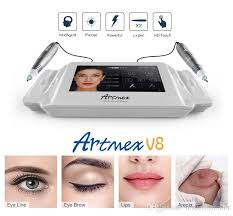 2017 intellegent artmex v8 tattoo permanent makeup machine touch screen 2 pens pmu needling s needling skin from drsdermaroller 587 74 dhgate