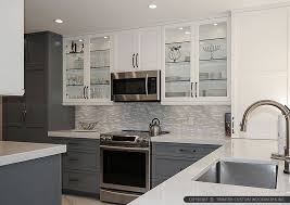 Small Picture 9 WHITE MODERN BACKSPLASH Ideas Glass Marble Mosaic Tile