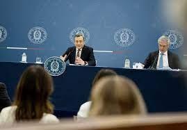 Conferenza stampa del Presidente Draghi e del Ministro Franco