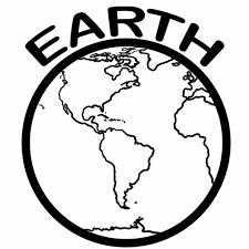 Small Picture Free Printable Earth Coloring Pages For Kids
