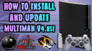update multiman v4 85 any cfw ps3