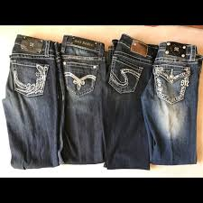Various Name Brand Jeans From Buckle