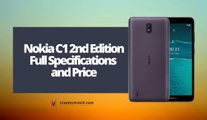 Nokia C1 2nd Edition Full ...