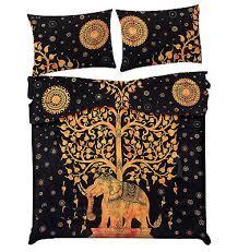 indian tree of life cotton luxury duvet
