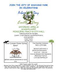 welcome to shavano park 170307 arborearth day 2017 flyer