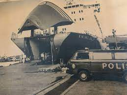 When sally took over the construction contract, the ship was lengthened from the original length of approximately 137 metres (449 ft) to approximately 155 metres (509 ft) and the superstructure of the. The Cursed Ship And A 33 Year Old Murder Finally Solved The True Crime Edition