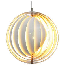 verner panton lighting. Verner Panton Moon Lamp Louis Poulsen 1960 At 1stdibs Lighting E