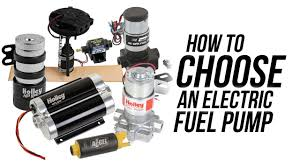 How to choose an <b>Electric Fuel</b> Pump! - YouTube