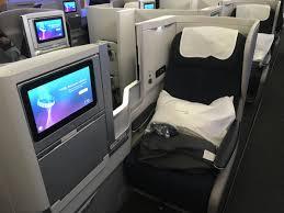 British Airways Business Class Seating Chart Flight Review British Airways Business Class Boeing 747 400