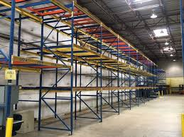 structural drive in and push back racking