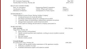 Simple Resume Exampleprin Unique Example Of A Simple Resume Custom Resume Template For No Job