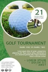 Astonishing Free Golf Tournament Flyer Template