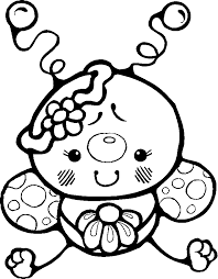 Small Picture Insect Coloring Pages For Kids Coloring Home