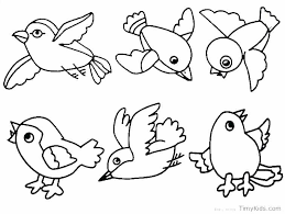birds coloring pages for kids pre bird book pdf toddlers fabulous easy to draw phoenix