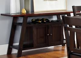 sofa table with wine storage. Liberty Furniture Lawson Server - Item Number: 116-SR6033 Sofa Table With Wine Storage B