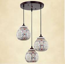 asian pendant lighting. asian e27 led vintage pendant light 3 head lamp hanging chinese ceramic loft coffee bar restaurant lighting p