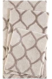 esprit oriental tile beige taupe bath mat