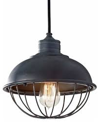 murray feiss urban mini pendant antique forged iron