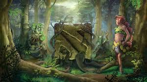 images dota 2 enchantress treant protector nature s prophet furion
