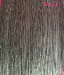 Gray Hair Color Chart Color Chart For Gray Human Hair Uniwigs Official Site